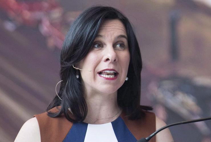 Montreal Mayor, Valerie Plante,