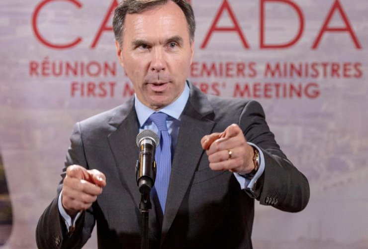 Federal Finance Minister Bill Morneau,