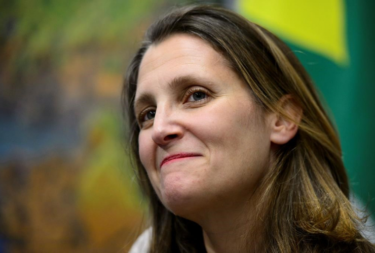 Minister of Foreign Affairs Chrystia Freeland, G20 Summit, Buenos Aires, Argentina,