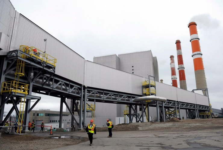 carbon capture and storage facility, Boundary Dam Power Station,