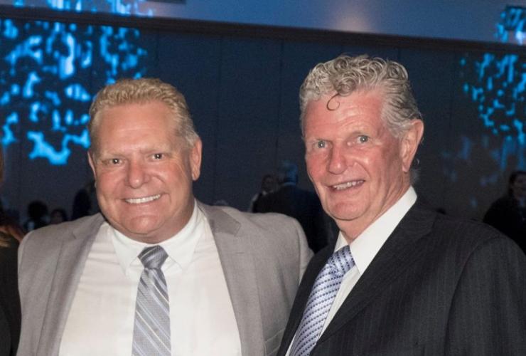 Ron Taverner, Doug Ford, Reena Foundation, Ontario Provincial Police, Toronto