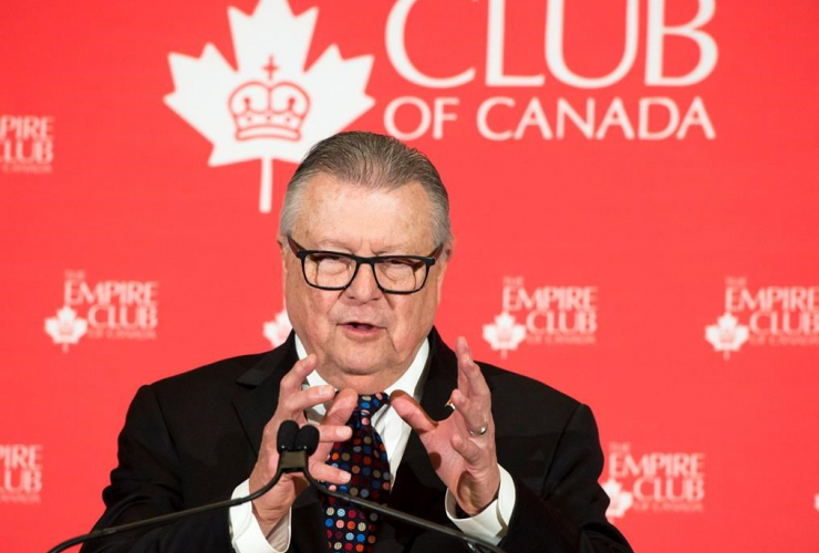 Ralph Goodale, Minister of Public Safety and Emergency Preparedness,