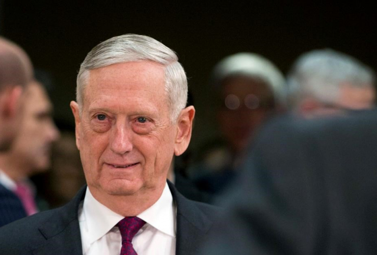U.S. Secretary for Defense, Jim Mattis, NATO headquarters, Brussels,