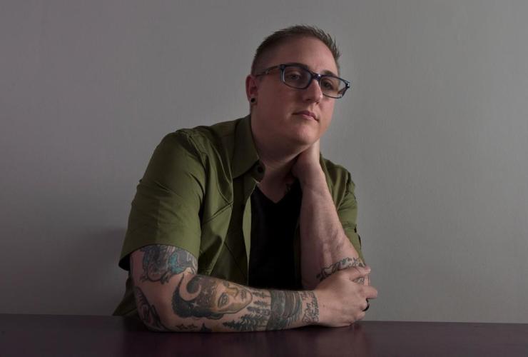 Callum Tate, transgender man,
