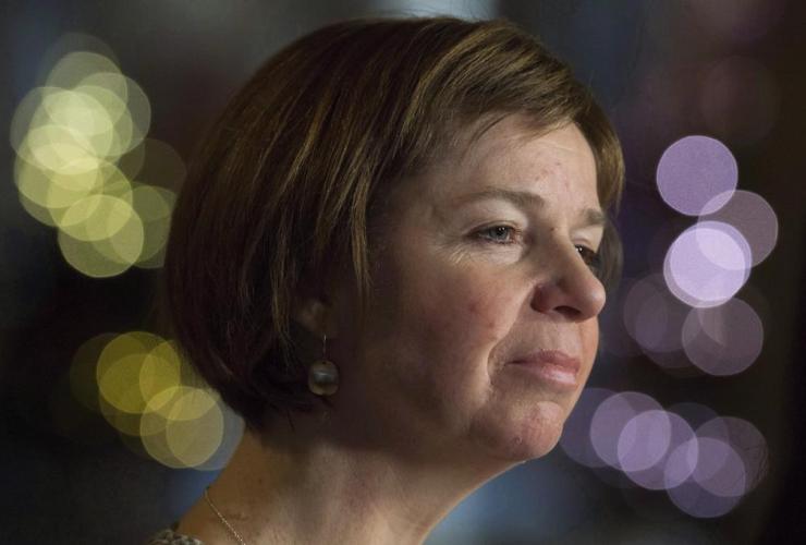 NDP MP Sheila Malcolmson,