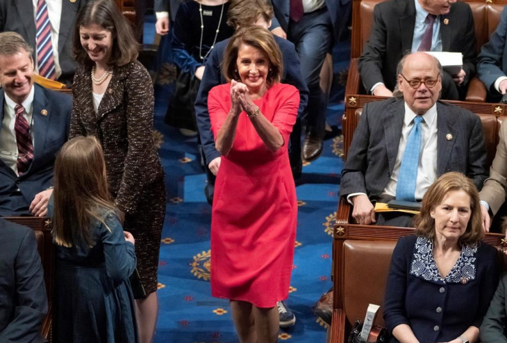 House Democratic Leader Nancy Pelosi, California, House of Representatives, 116th Congress,