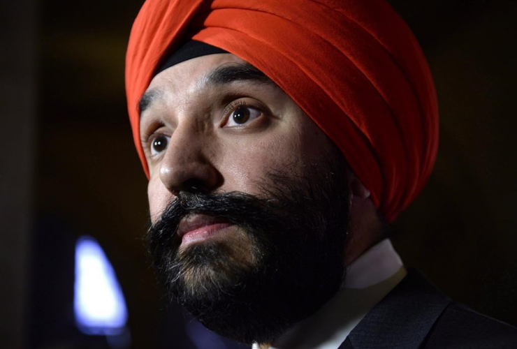 Minister of Innovation, Science and Economic Development, Navdeep Bains
