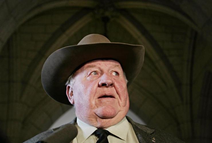 Conservative MP, Myron Thompson,