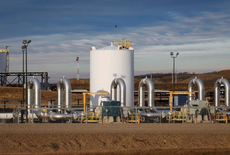 TransCanada, Keystone pipeline facility, Hardisty, Alberta,