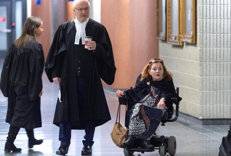 Nicole Gladu, Jean-Pierre Menard, courthouse,