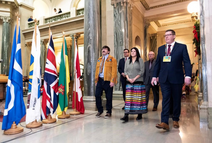Robert Doucette, Melissa Parkyn, Paul Merriman, Warren Kaeding, Scott Moe, Apology to Sixties Scoop Survivors,