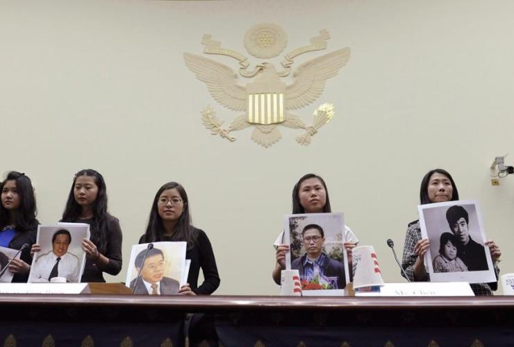 Lisa Peng, Grace Ge Geng, Ti-Anna Wang, Bridgette Chen, Danielle Wang, House Foreign Affairs Committee,