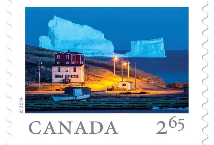 St. John, photographer, Michael Winsor, giant iceberg, Iceberg Alley,
