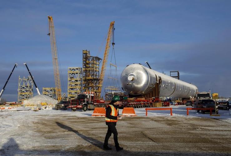 Inter Pipeline, Heartland Petrochemical Complex, Fort Saskatchewan,