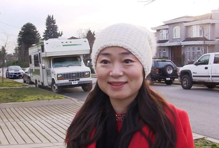 Liberal candidate, Karen Wang,