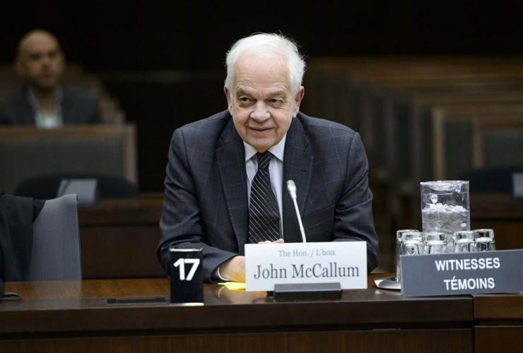 Canada's ambassador to China, John McCallum,