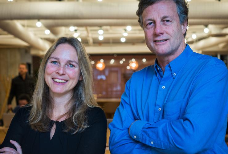 Scientists Kirsten Zickfeld and Mark Jaccard