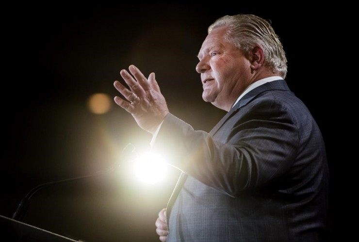 Ontario Premier Doug Ford, Economic Club of Canada,