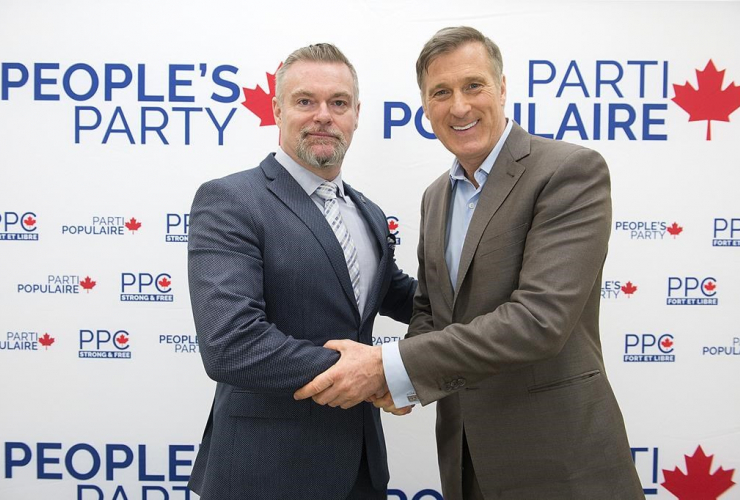 People's Party of Canada, Maxime Bernier, James Seale,