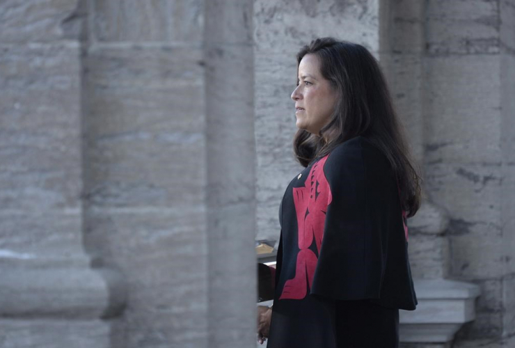 Veterans Affairs Minister, Jodie Wilson-Raybould,