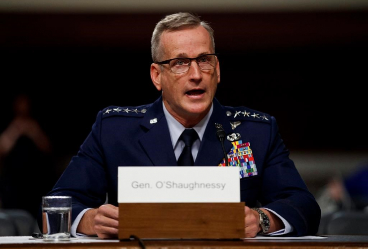 Air Force Gen. Terrence O'Shaughnessy, Senate Armed Services Committee,