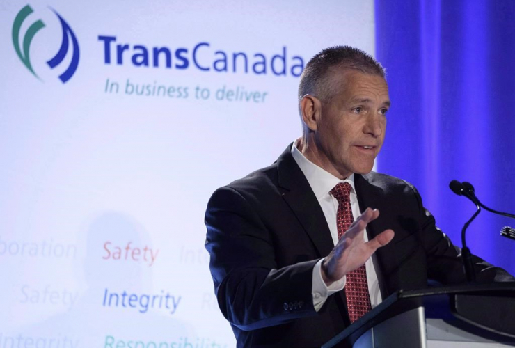 TransCanada Corp. president and CEO Russ Girling,