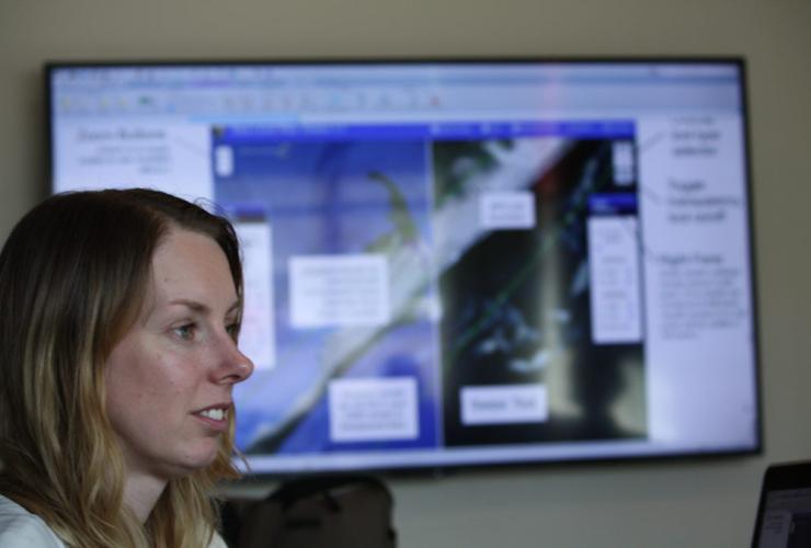Climate scientist, Maria Caffrey,