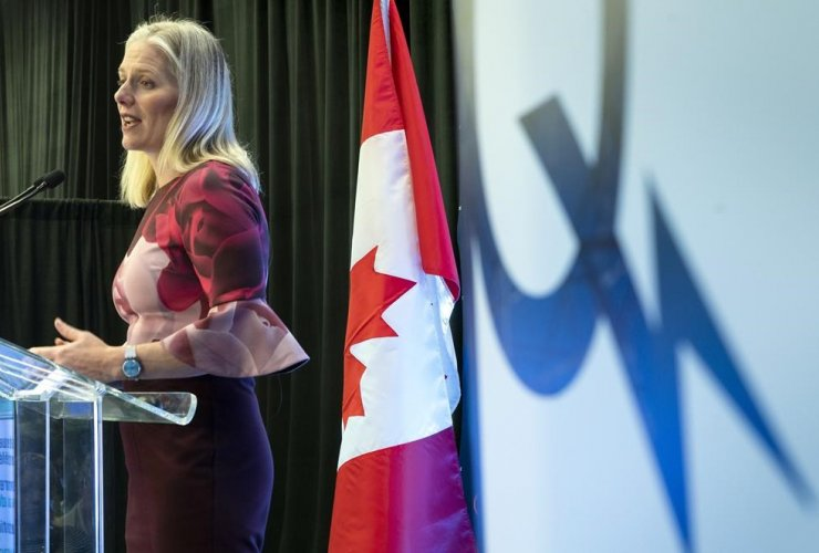 Federal Environment Minister Catherine McKenna,