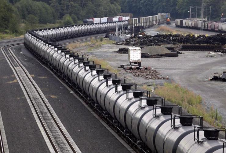 oil train, protesters, Everett,