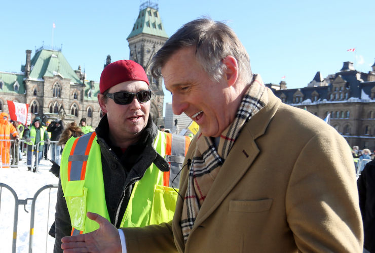 Maxime Bernier, Ottawa, United we roll, convoy, pipeline, immigration