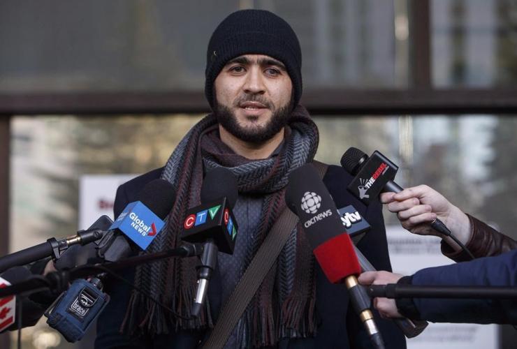 Omar Khadr, Edmonton,