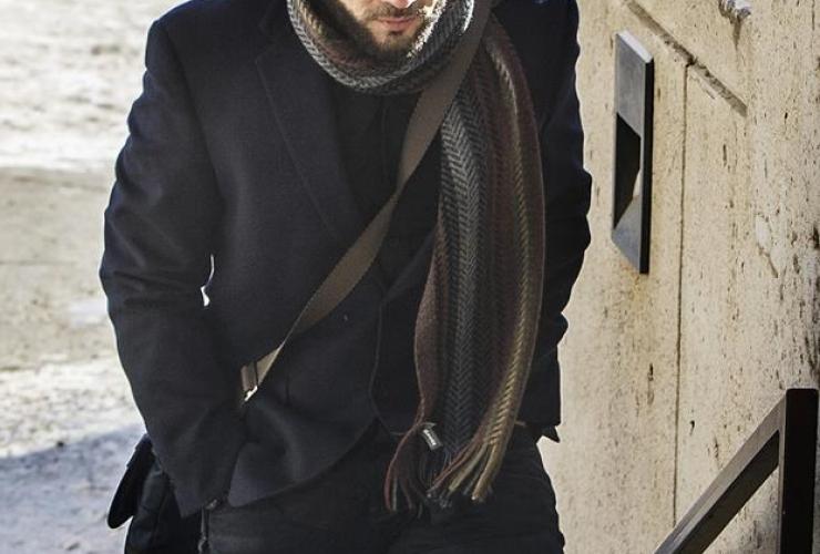 Former Guantanamo Bay prisoner, Omar Khadr, courthouse, Edmonton,