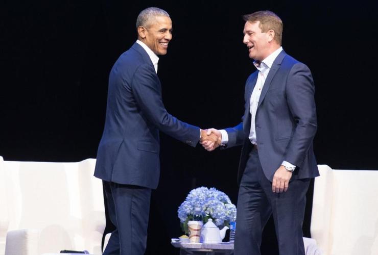Former U.S. President Barack Obama, Michael Burns, Princess Margaret Cancer Foundation,