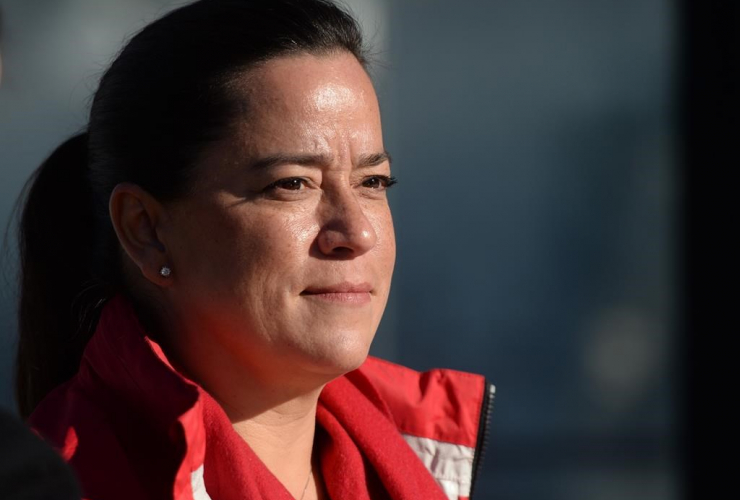 Former justice minister Jody Wilson-Raybould,