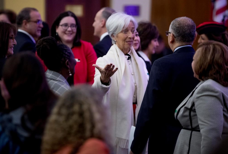 International Monetary Fund Managing Director Christine Lagarde,