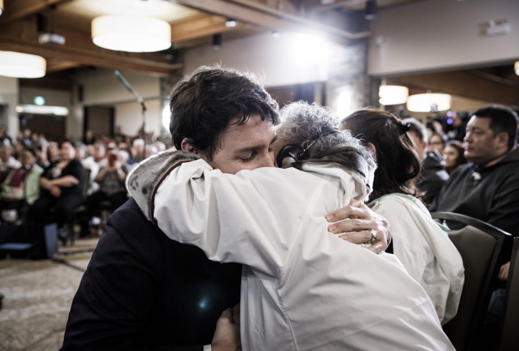 Justin Trudeau, Inuit, Iqaluit