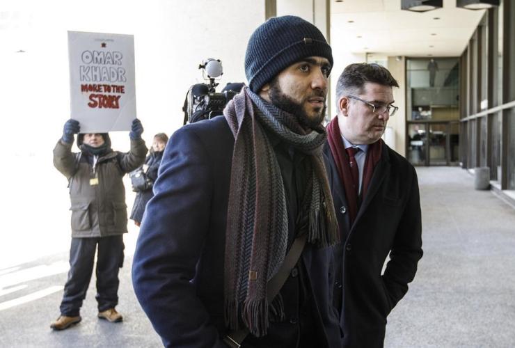 Former Guantanamo Bay prisoner, Omar Khadr, lawyer, Nate Whitling,
