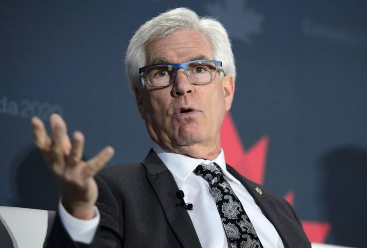 Minister of International Trade Diversification, Jim Carr,