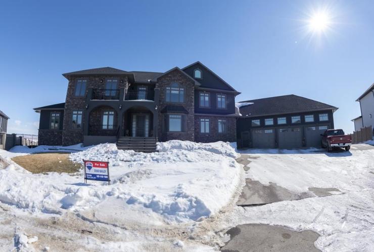 new home, Creekside Terrace, Creeks, Weyburn, Sask.,