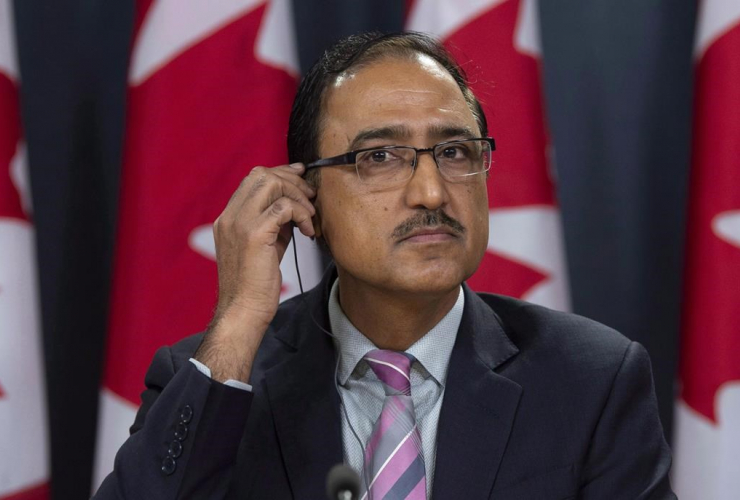 Natural Resources Minister Amarjeet Sohi,