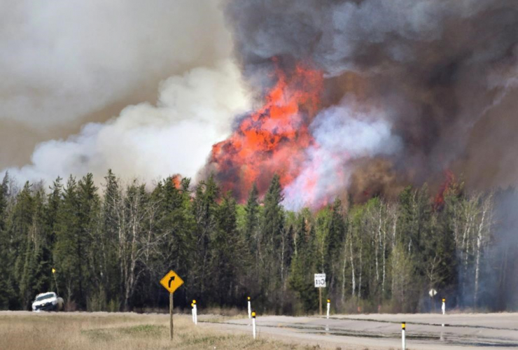 wildfire, Fort McMurray,