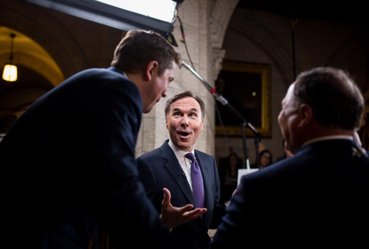 Bill Morneau, House of Commons, Andrew Scheer, Ottawa