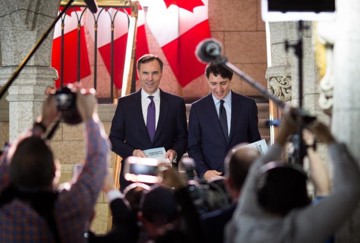 Bill Morneau, Justin Trudeau, budget