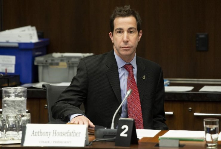 Justice Committee chair Anthony Housefather,