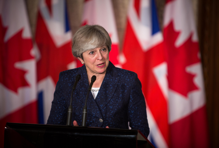 Theresa May, Ottawa, United Kingdom