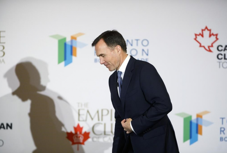 Canadian finance minister Bill Morneau,