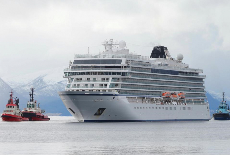 cruise ship, Viking Sky,  Molde, Norway,