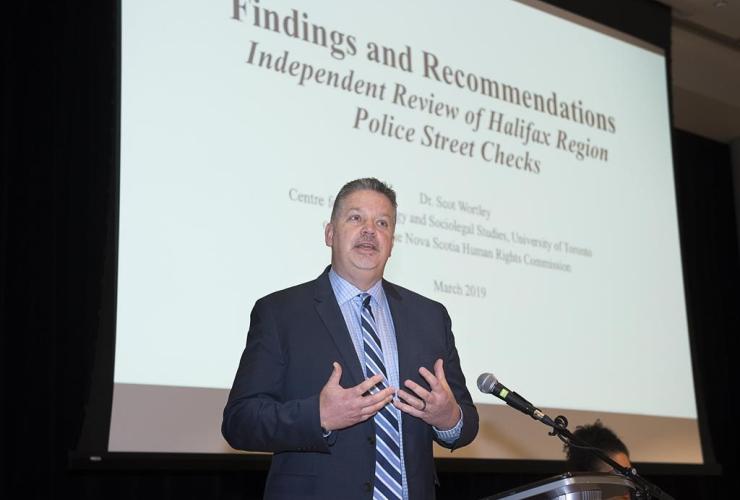Criminologist Scot Wortley,