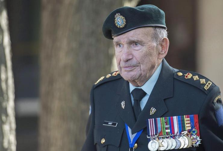Colonel David Lloyd Hart, veteran, Raid on Dieppe,