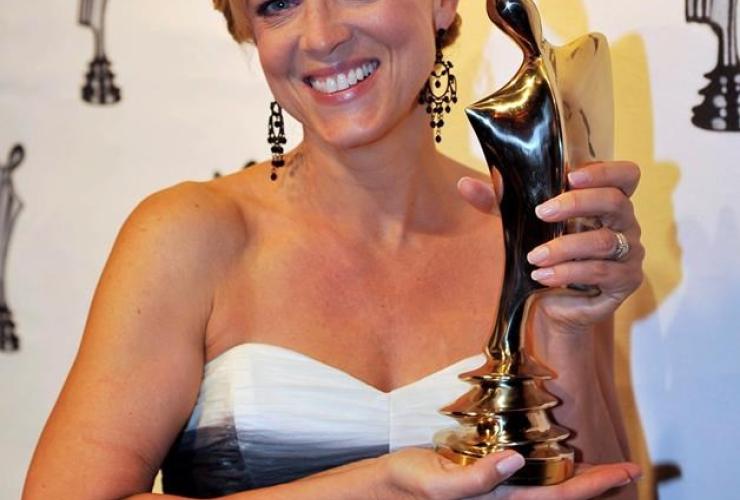 Actress Sophie Pregent,